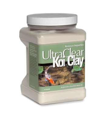 Ultra Clear Koi Pond Clay (4lb.)