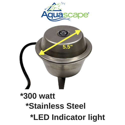 Aquascape Stainless Steel de-icer (300 watt)