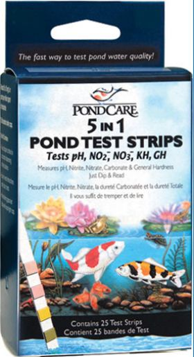 Pond Care 5-1 Test Strips