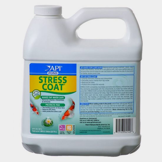 pond care stress coat 64oz.