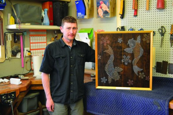 handcrafted-koi inspired woodworking-at-its-finest-featured
