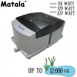 Matala-Hakko 3 models of pond air pumps pumps