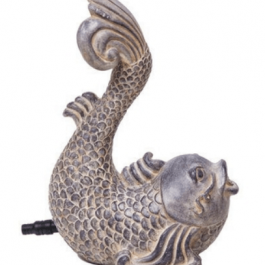 Koi Pond Water Spitter antique koi design